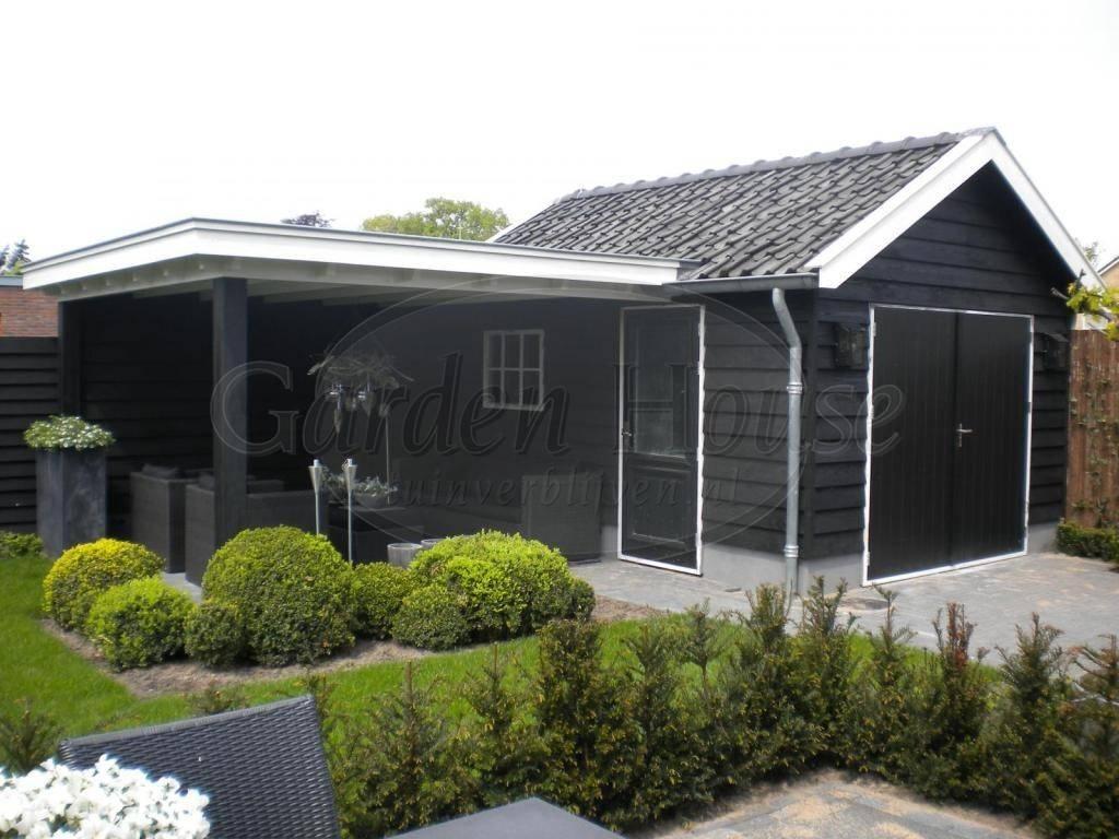 Kleine berging met veranda referentie garden house for Berging met veranda