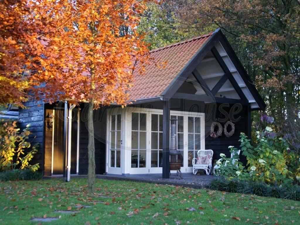 Gastenverblijf referentie garden house tuinverblijven.nl